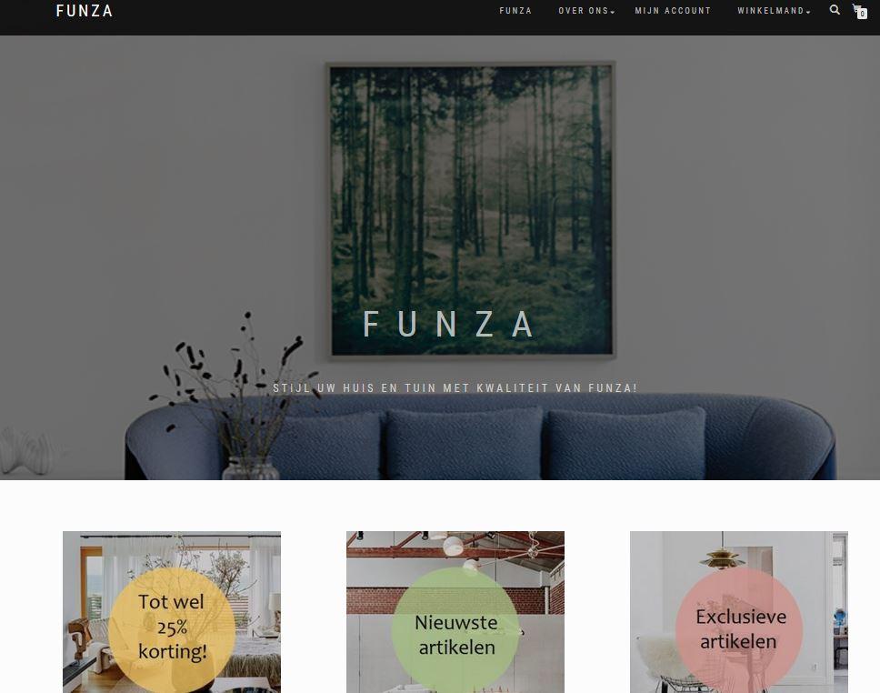 Webshop Funza