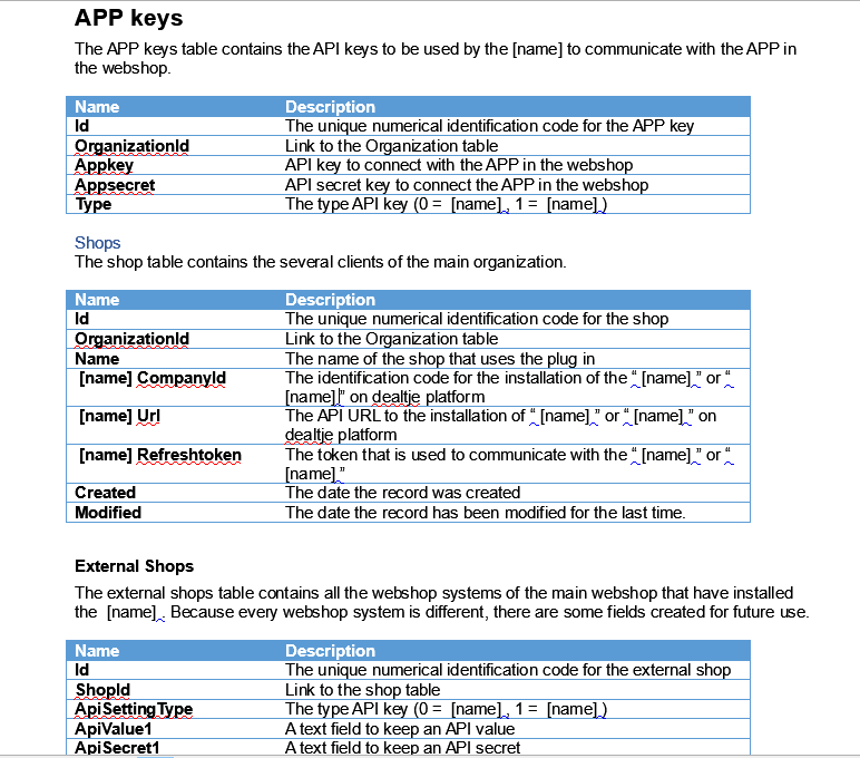Translation technical document web APP