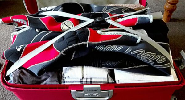 30 kg of Life in 1 Suitcase