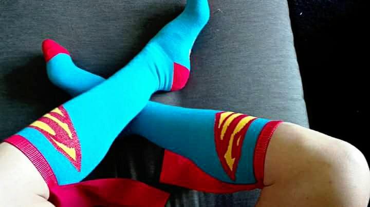 Super Girl Socks