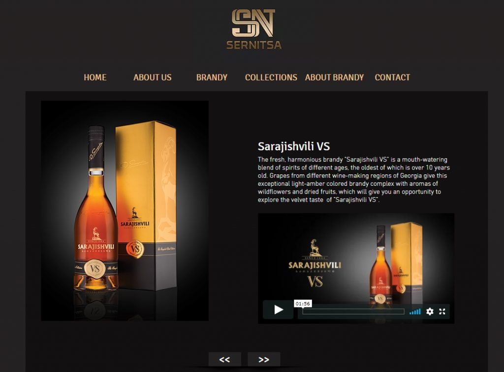 Multilingual WIX website Sernitsa