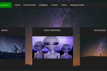 Website SETIphilosopher