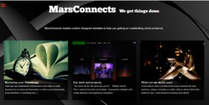Website MarsConnects 2017