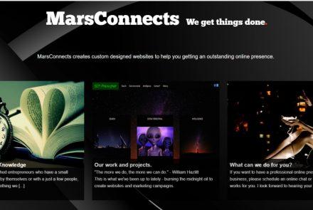 Website MarsConnects