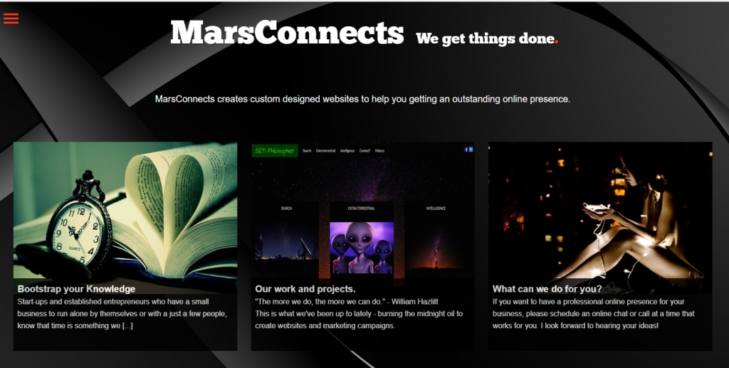 Website MarsConnects