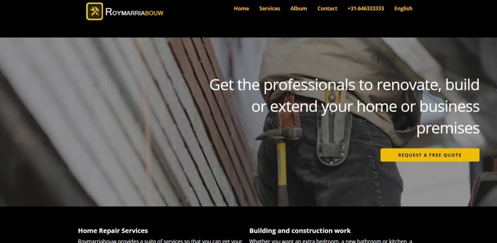 Meertalige WordPress Website voor ZZP-ers