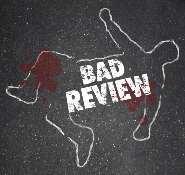 hoe ga je om met negatieve reviews