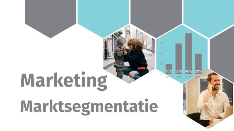 Marketing - Marktsegmentatie - MarsConnects