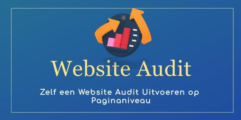 Website Audit zelf uitvoeren op paginaniveau   MarsConnects